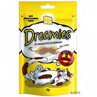 Dreamies Chееse - неустоимо лакомство с вкусен кремообразен пълнеж 60 грама