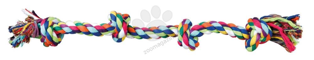 Trixie - Playing Rope - въже за игра с четири възела 54 см.