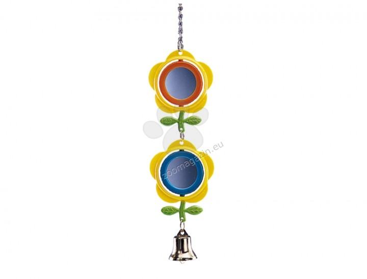 Nobby Cage toy and equipment - двойно огледалце цвете 28см