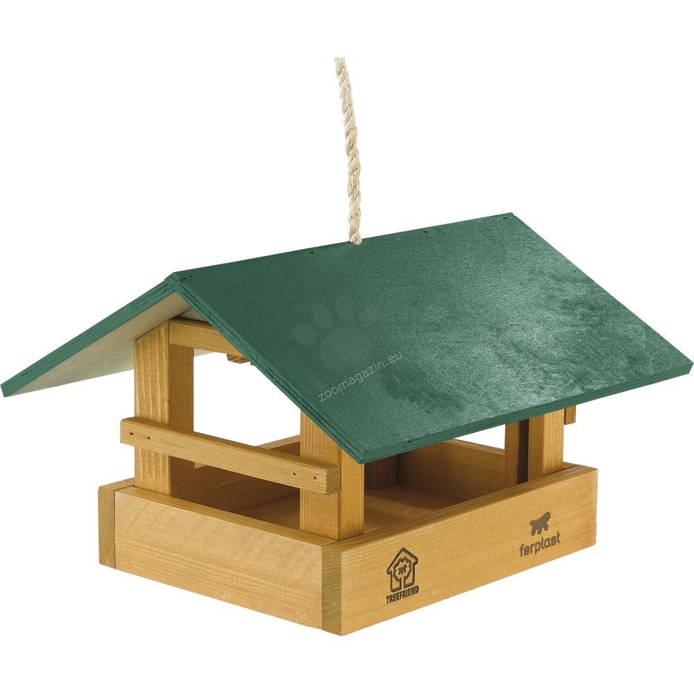 Ferplast - Feeder 10 - градинска хранилка за диви птички 28 / 29 / 18,5 cм.