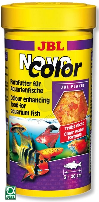JBL NovoColor - основна храна за подсилване на цветовете  250 мл.