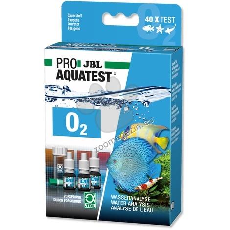 JBL Proaquatest O2 Oxygen - тест за определяне съдържанието на кислород в сладководни / соленоводни аквариуми и водоеми / 40 теста
