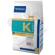 Virbac Kidney Support - Диетична храна за котки с бъбречна недостатъчност 1.5 кг.