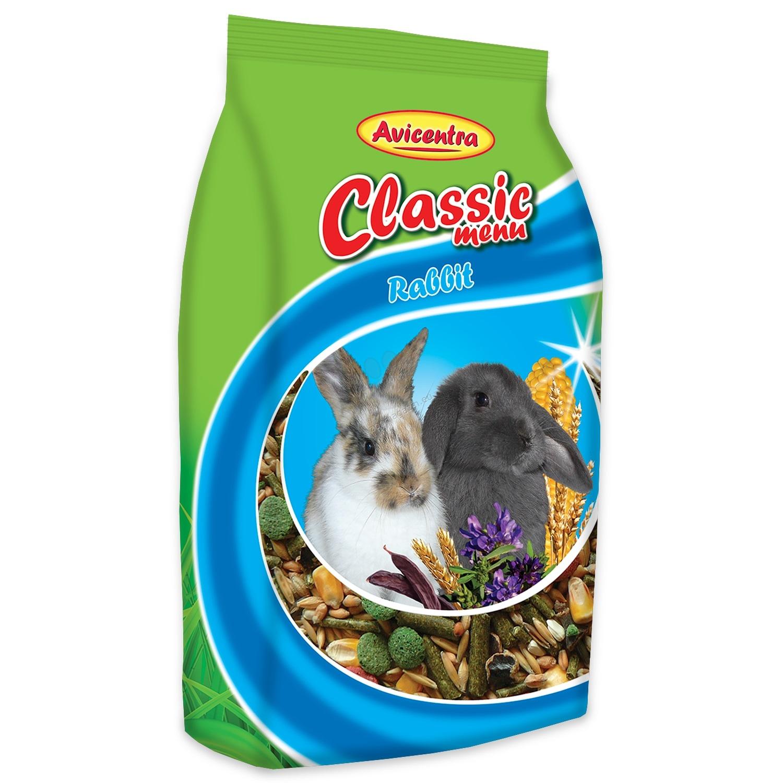 Avicentra Rabbit classic menu - храна за мини зайчета 1 кг.