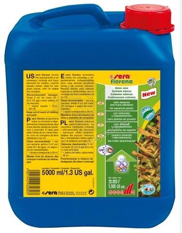 Sera - Florena - течен тор за сладководни аквариумни растения 2500 мл.