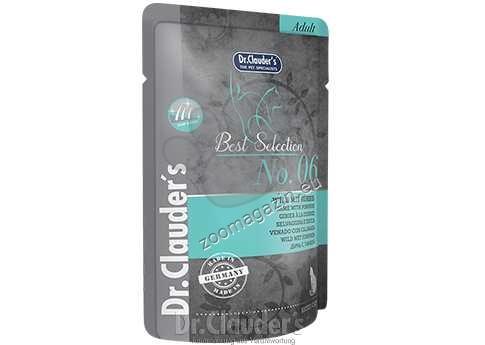 Dr.Clauder Best Selection N6 - премиум храна с месо от дивеч и тиква 85 гр.