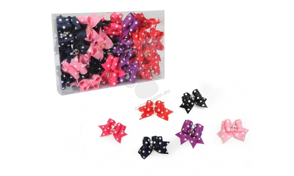 Camon Fiocchetti mix - панделка / червена, лилава, синя, черна, розова, тъмно розово /