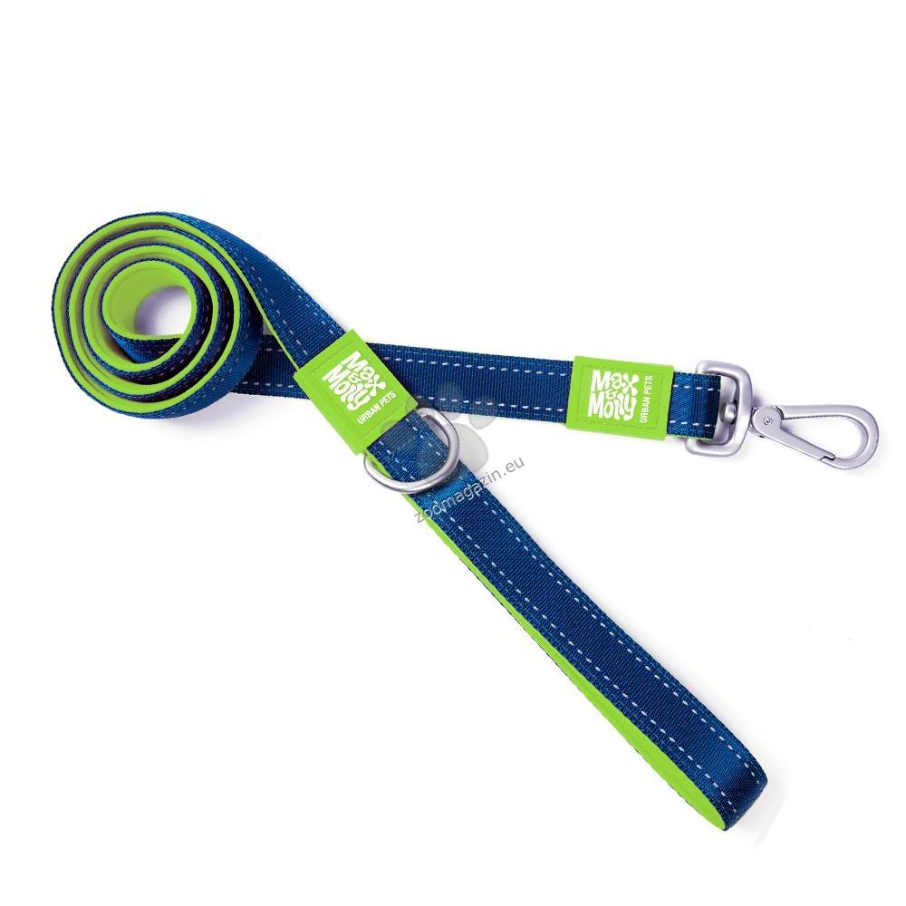 Max Molly Short Leash Matrix Green L - повод 120 см. / 25 мм.