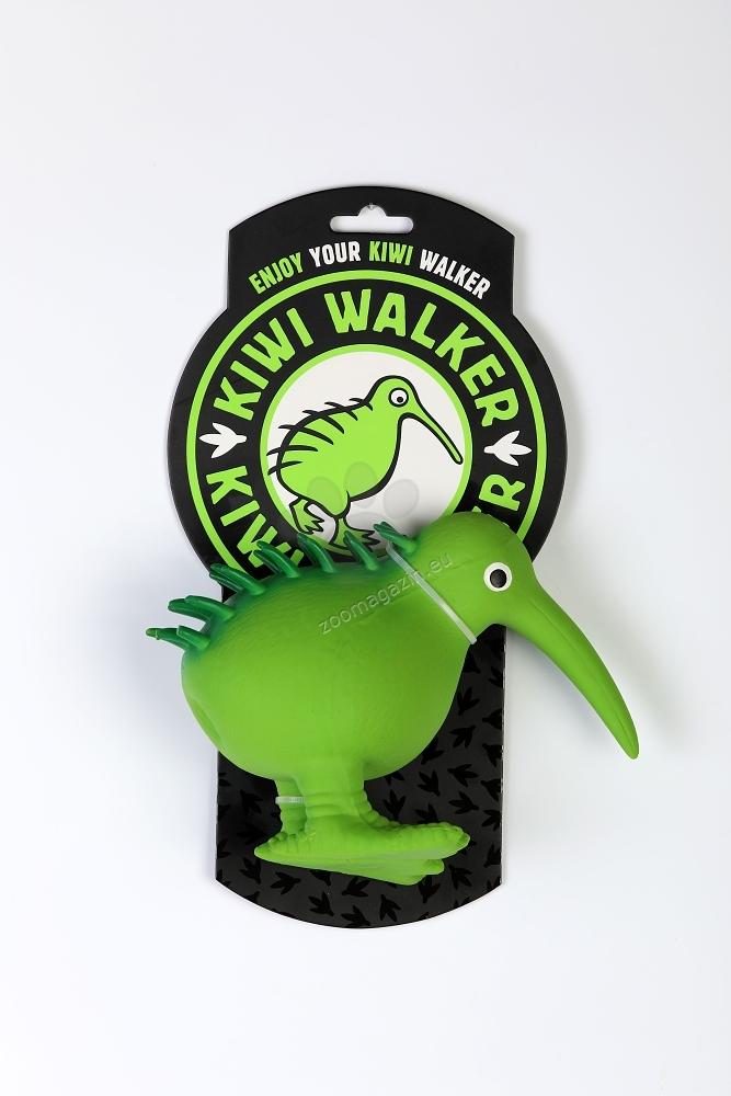 Kiwi Walker Whistle L - латексова играчка 13.5 см. / оранжева, зелена, синя, кафява, розова /