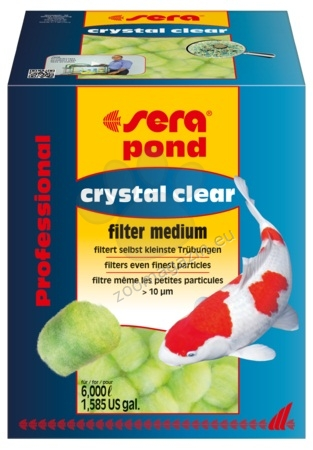 Sera - Pond crystal clear Professional - за кристално прозрачна вода в езерото 350 гр.