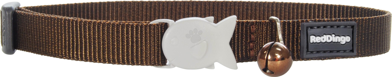 Red Dingo Cat Collar Classic Brown - котешки нашийник, 12 мм х 20-32 см