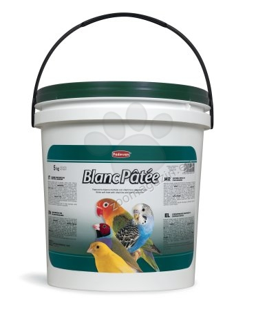 Padovan Blanc patee - мека хранителна добавка за зърноядни птици 5 кг.