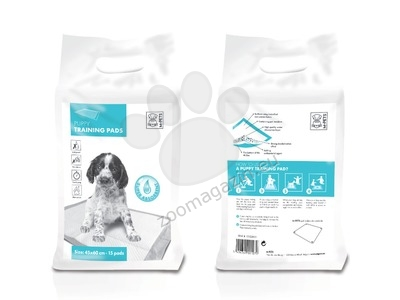 M-Pets Puppy Training Pads - подложки с гел 90 / 60 см., 30 броя