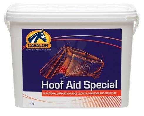 Cavalor Hoof Aid Special - висококачествена смес от витамини и хранителни вещества, стимулира растежа на копитото и помага за възстановяването му от пукнатини и наранявания 5 кг.