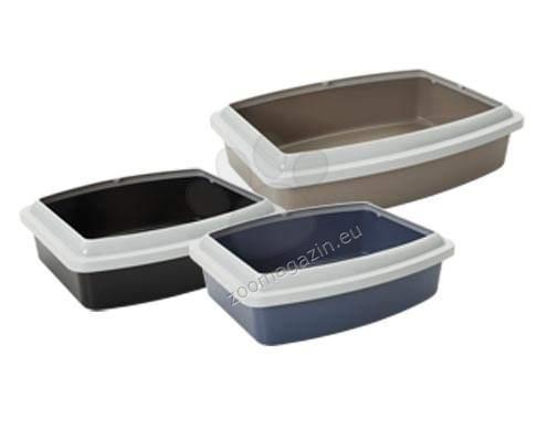 Savic Rim Oval Jumbo - открита котешка тоалетна /сива,кафява,синя/ 55,5 / 43,5 / 13,2 см.