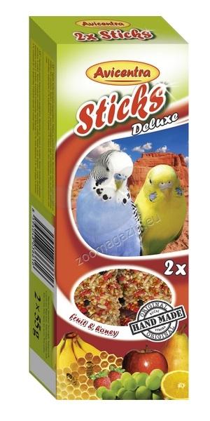 Avicentra Sticks Deluxe - крекер с плодове и мед 2 х 55 гр.