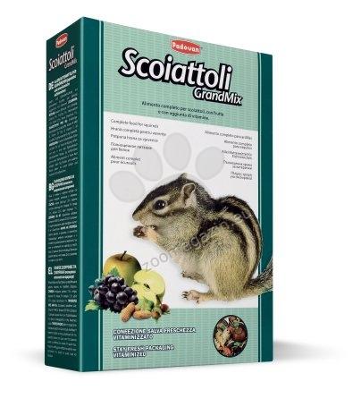 Padovan GrandMix scoatottoli - пълноценна храна за катерици 750 гр.