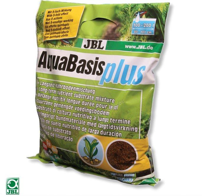 JBL AquaBasis plus - пълноценен хранителен субстрат за основа на аквариума  2.5 литра