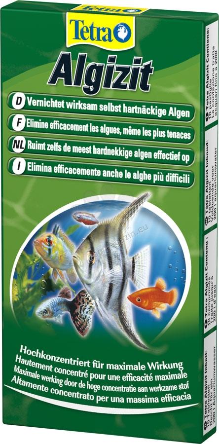 Tetra - Algizit - за активна борба и с най упоритите алги 10 бр. таблетки