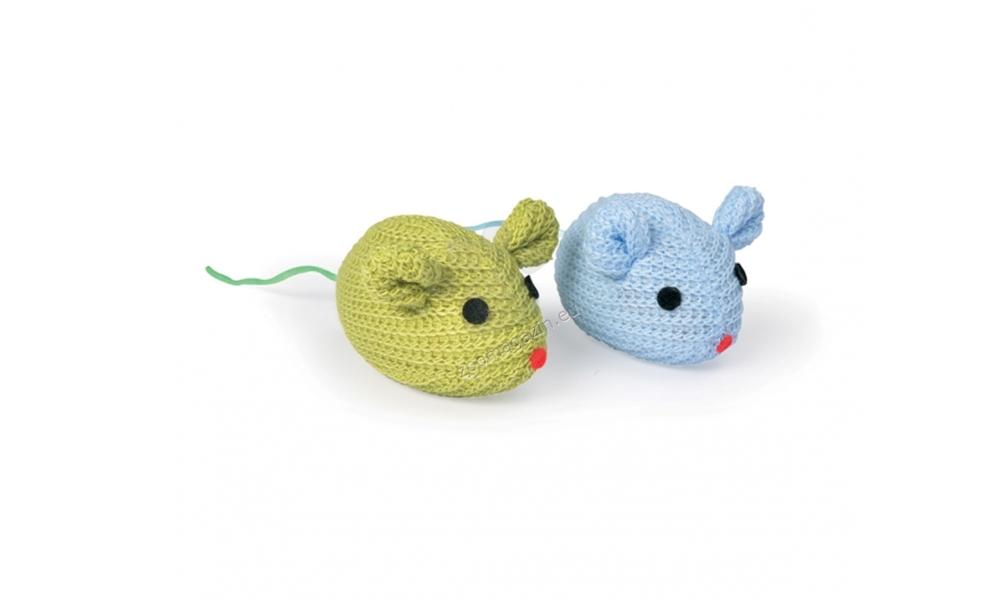 Camon Mice mesh - котешка играчка 7 см., 2 броя