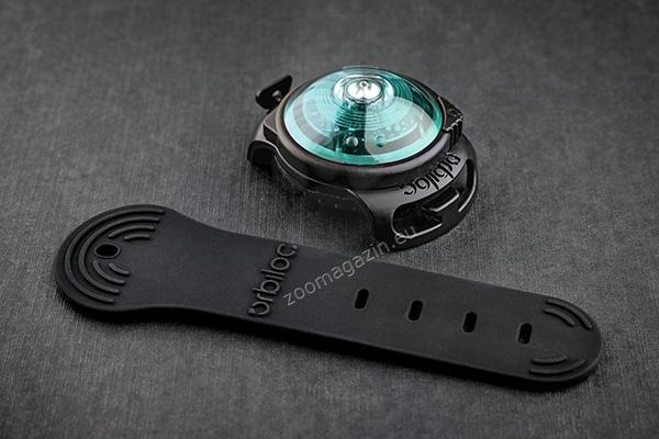 Orbiloc Dual Safety Light Turqoise - най добрия флашер за Вас и Вашето куче тюркоаз