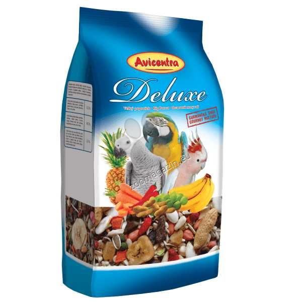 Avicentra Deluxe big parrot - храна за големи папагали 1 кг.