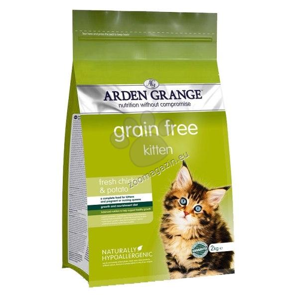 Arden Grange - Kitten Grain Free - с прясно пилешко месо, за котки от 1 до 12 месеца 400 гр.