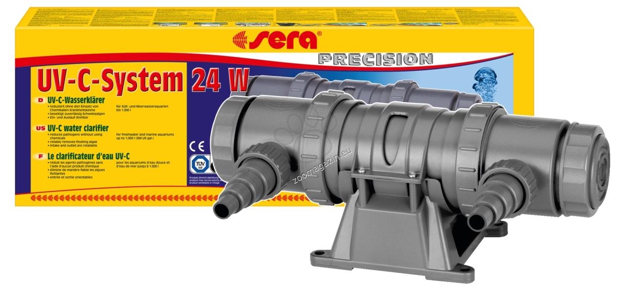 Sera - UV-C система 24 W за пречистване на аквариуми и езера