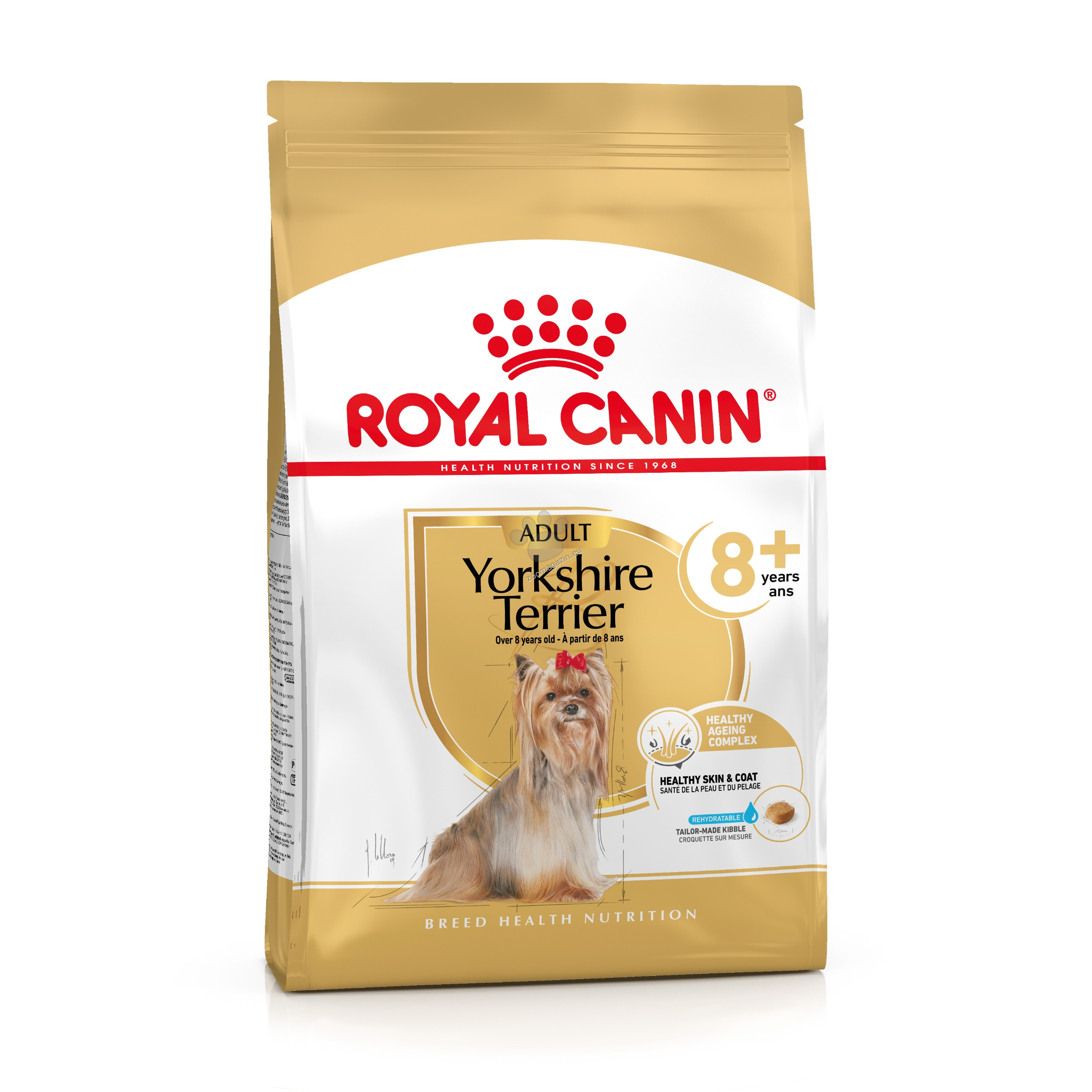 Royal Canin Yorkshire Terrier Adult 8+ - за кучета порода йоркширски териер на възраст над 8 години 1.5 кг.