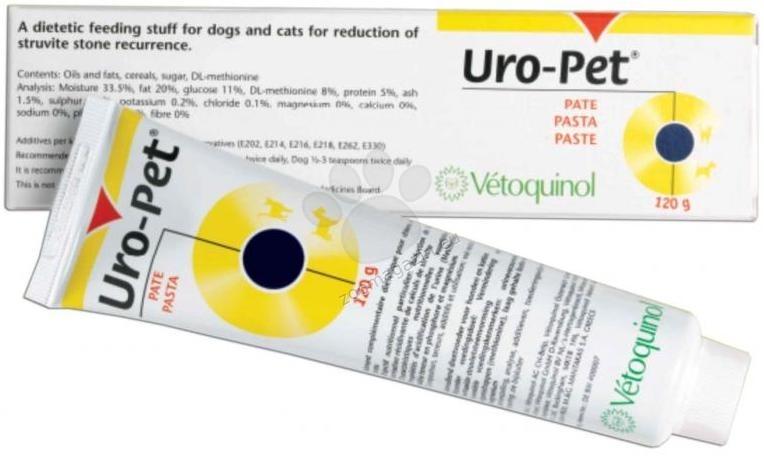 Vetoquinol - Uro Pet - добавка за разтваряне на струвитни камъни 120 гр.