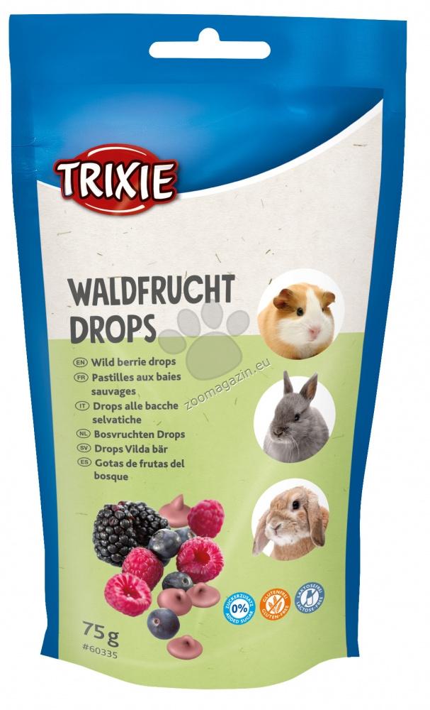 Trixie Wild berry drops - лакомство горски плодове 75 гр.