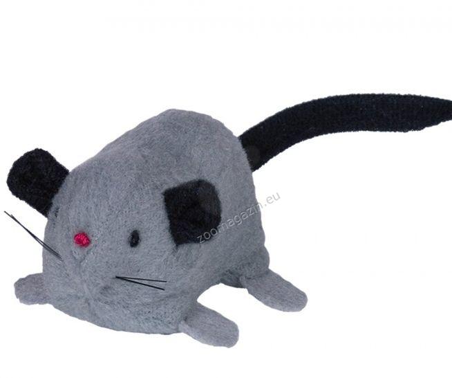 Nobby Plüsch Maus mit Catnip - плюшена мишка 6.5 см. / сива, кафява /