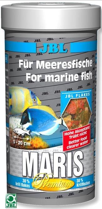 JBL Maris - храна за риби в морски аквариум люспи 250 мл.