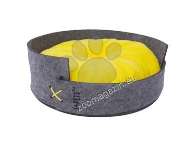 M-Pets MAUI Felt Basket - котешко легло 37 / 37 см.