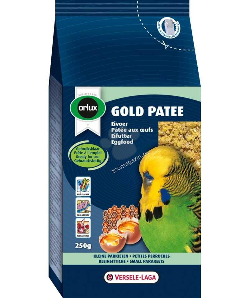 Versele Laga - Gold Patee Small Parakeet - мека яйчна храна за малки папагали 250 гр.