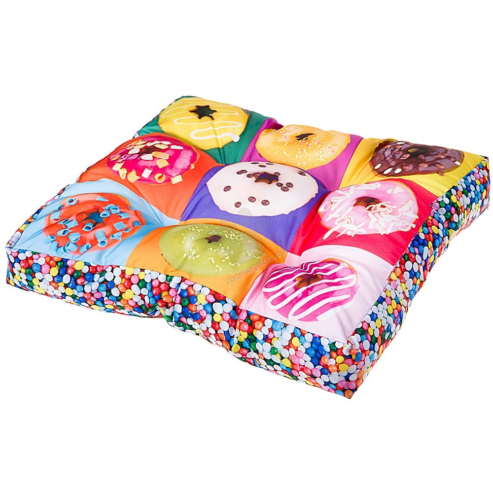 Ferplast Love Donuts - μαλακό κρεβάτι 55/55 cm