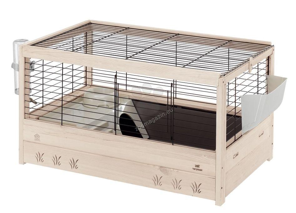 Ferplast  - Arena 80 - клетка с пълно оборудване, за морски свинчета 82 / 52 / 45,5 см.