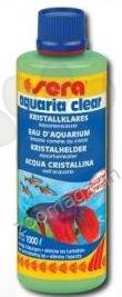 Sera aquariaclear - отстранява мътността в аквариума бързо и лесно 250 мл