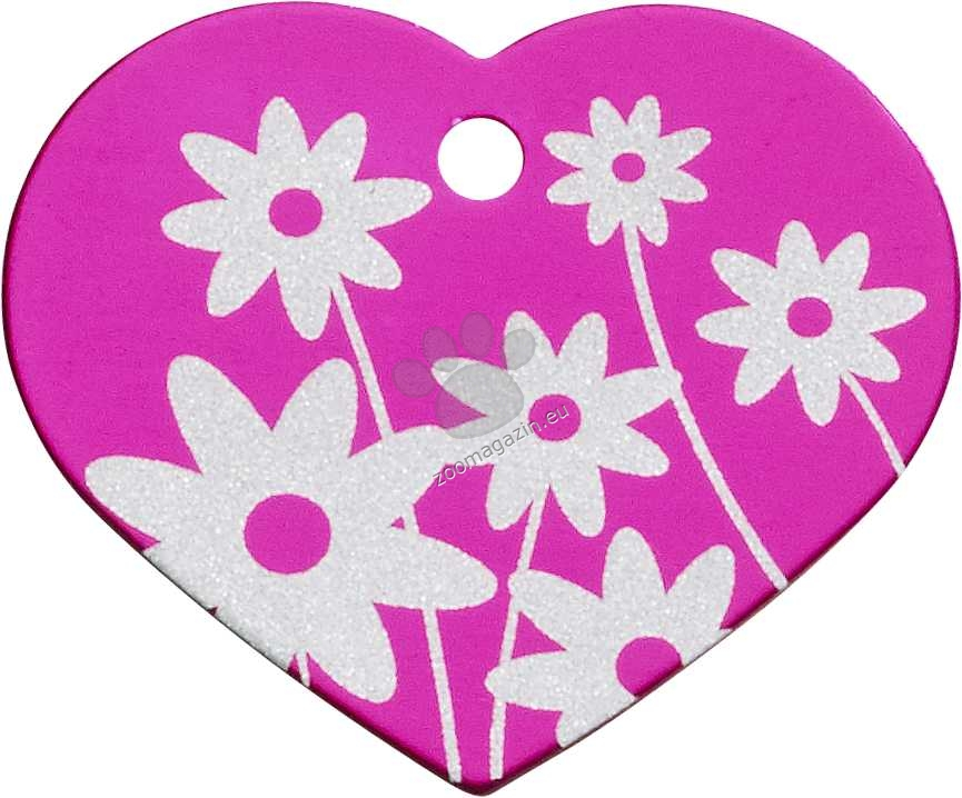 iMARC - Pink Daisy Flower Heart