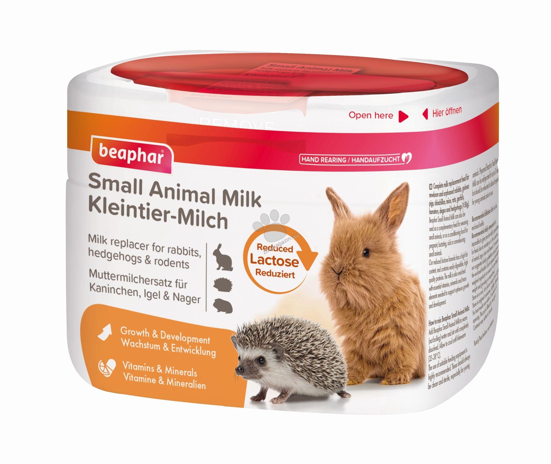 Beaphar Small Animal Milk - Сухо мляко за дребни животни 200 гр.