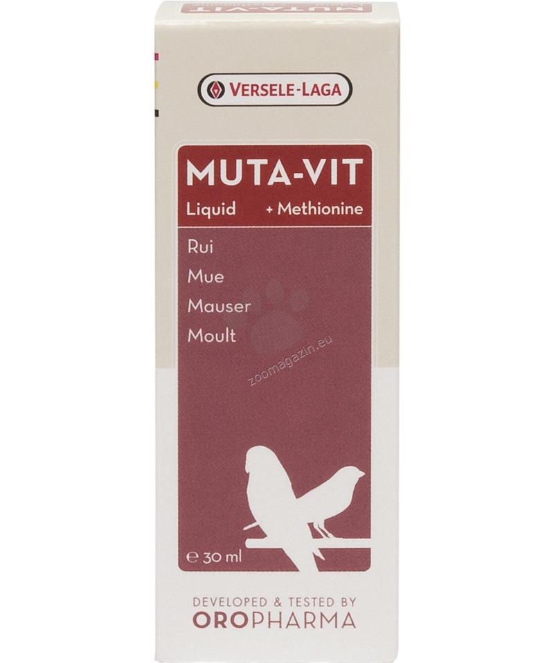 Versele Laga - Orolux Muta - Vit Liquid - комплекс от витамини, аминокиселини и микроелементи за добро оперение, течен 30 мл.