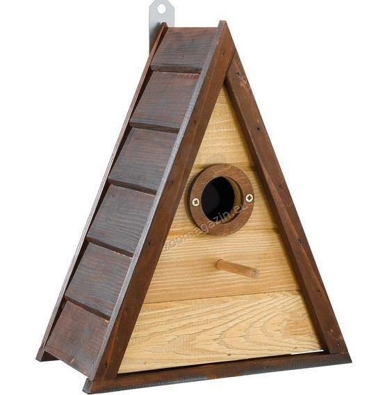 Ferplast - Natura N7 - градинска къщичка за диви птички 24 / 13,2 / 29,8 cm