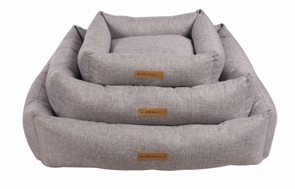 M-Pets OLERON Basket grаy - меко легло 95 / 75 см.