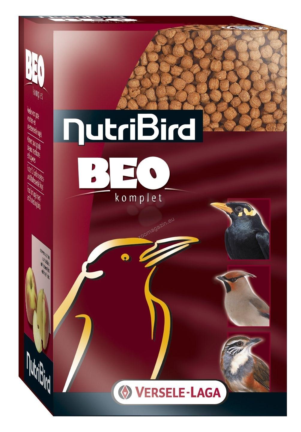Versele Laga - Nutribird Beo komplet - пълноценна екструдирана храна за мейна и други големи насекомоядни и плодоядни птици  500 гр.