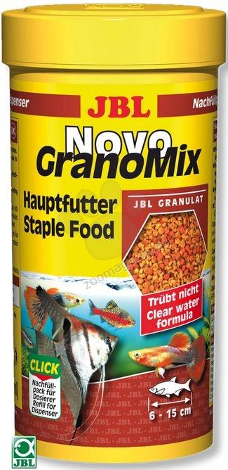 JBL NovoGranoMix - храна за декоративни рибки 250 мл.