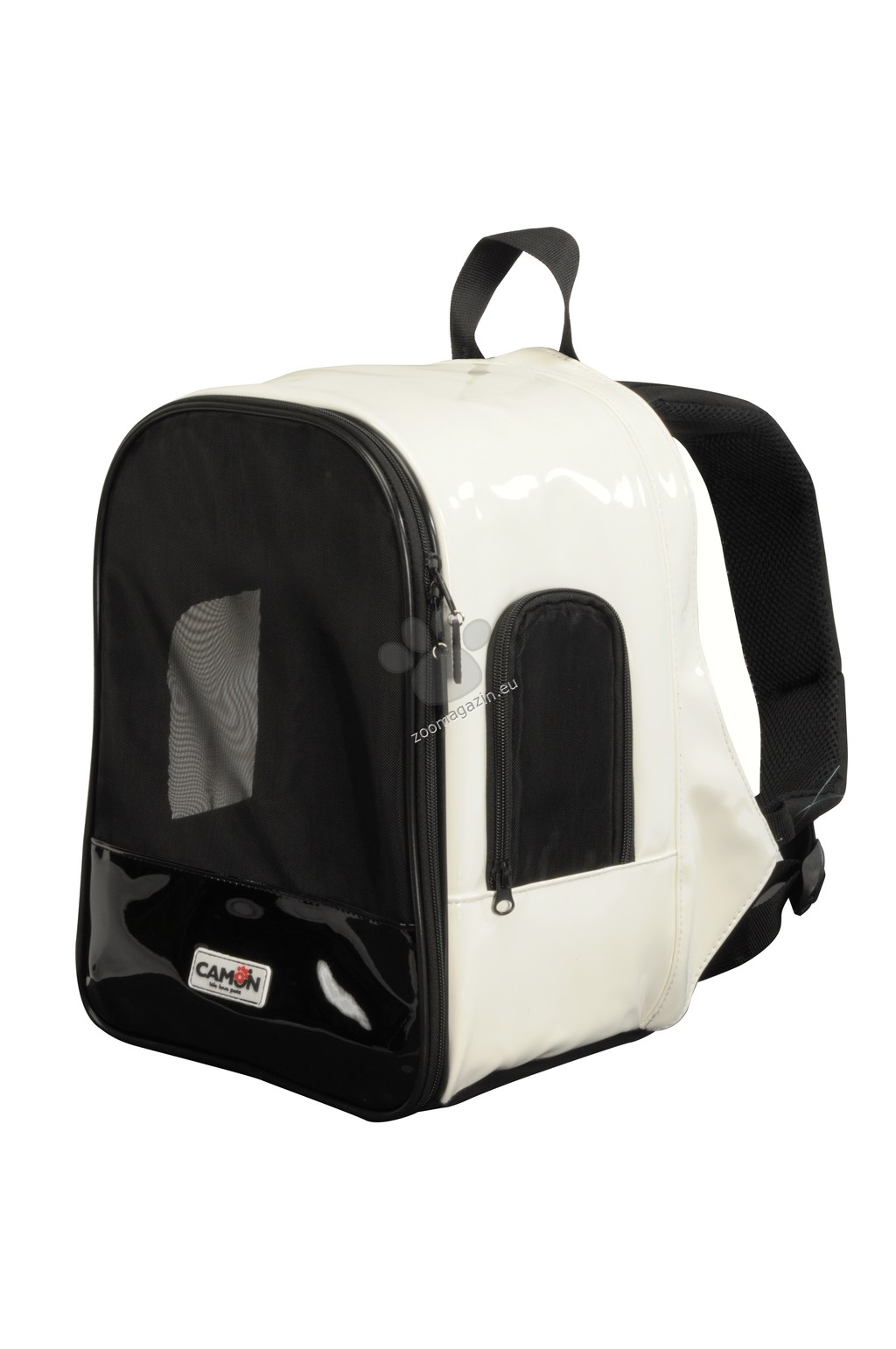 Camon Backpack carrier with breathable mesh - раница 25 / 16 / 35 см. / бяла, черна /