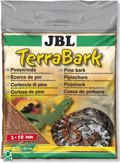 JBL TerraBark (2-10 мм) - постелка за терариум от борова кора 5 л.
