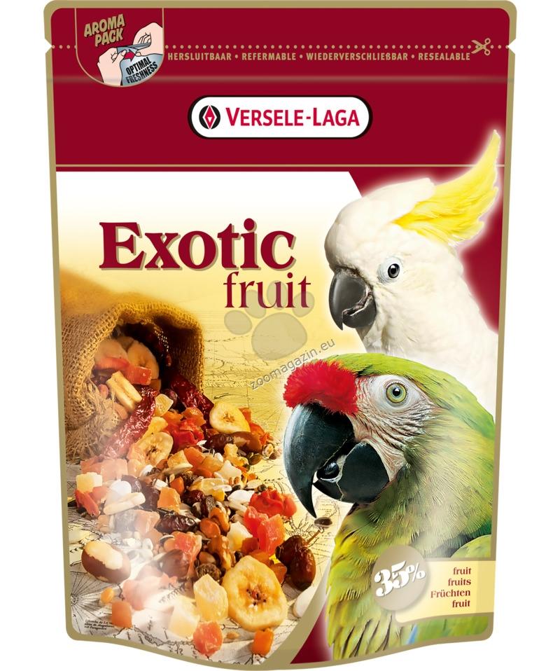 Versele Laga - Exotic Fruit mix - храна за големи папагали с екзотични плодове, 600 гр.