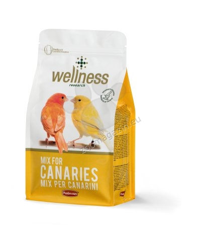 Padovan Wellness Mix for Canaries - премиум храна за канарчета 1 кг.