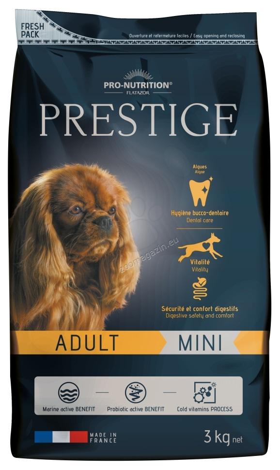 Flatazor Prestige Adult Mini - пълноценна храна за кучета малки породи от 1 до 8 години  3 кг.